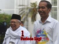 Nomor Urut 1, Jokowi Minta 1 Periode Lagi
