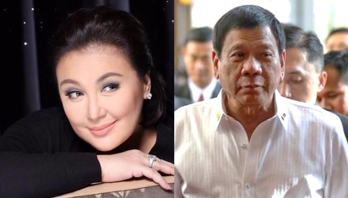 Sharon Cuneta thrilled over video greeting from President Duterte