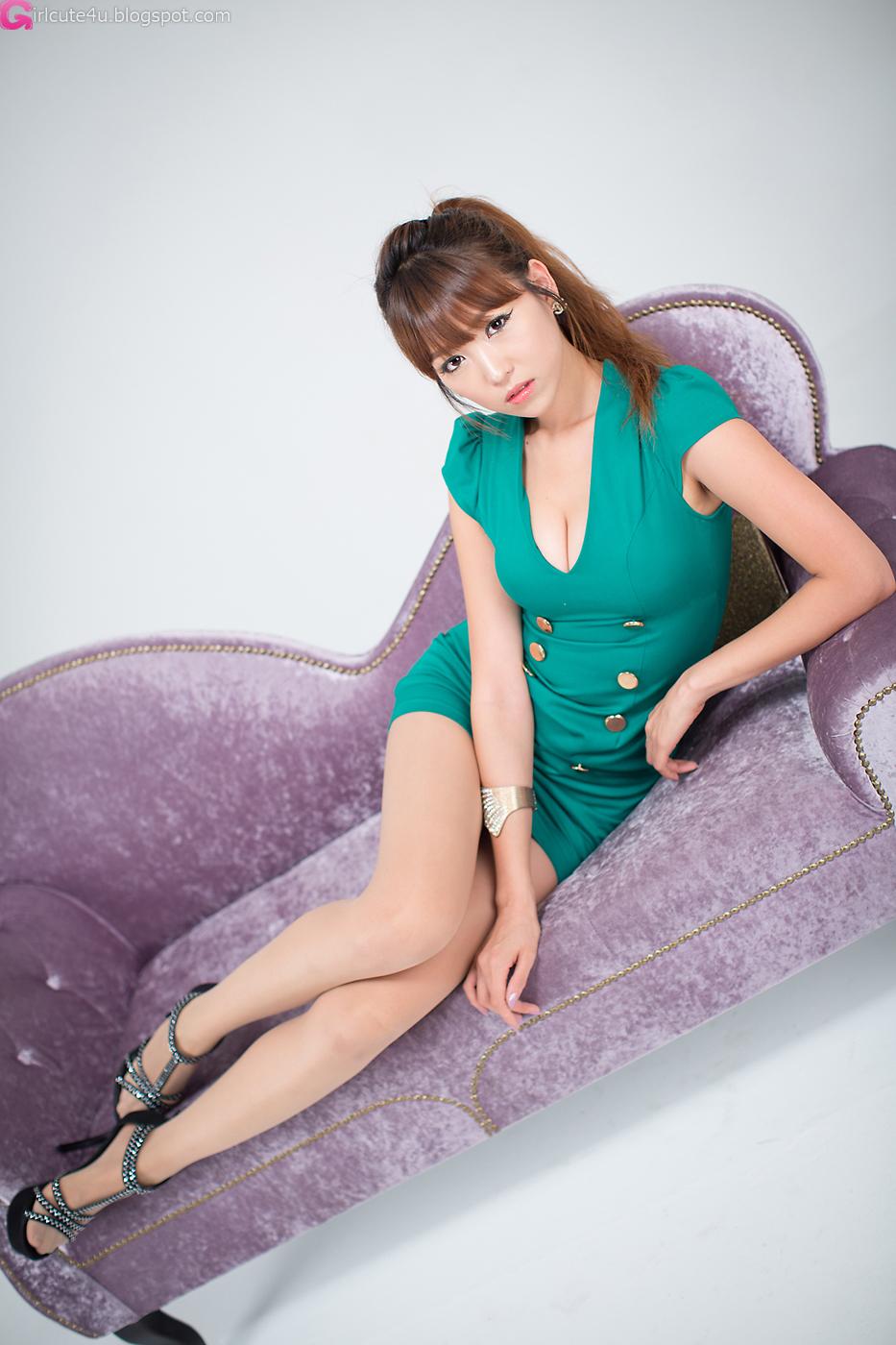 Cute Asian Girl Sexy Office Lady - Lee Eun Hye-2648