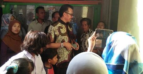 Desri Ayunda Temu Ramah di Padang Selatan, Warga: Jangan Jadikan Kampung Kami Sekedar untuk Mendulang Suara