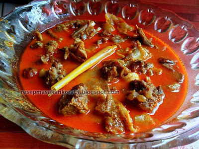 Resep Gulai Daging Sapi Cincang Padang