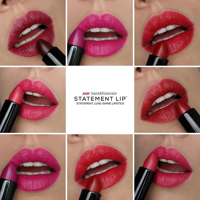bareMinerals Statement Luxe Shine Lippenstifte