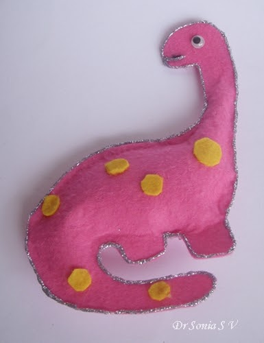 easy felt craft ideas cards crafts projects easy dinosaur felt tutorial 4354