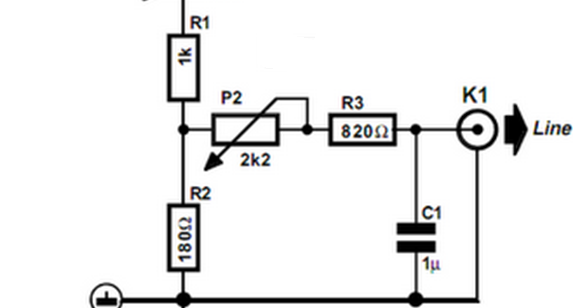 picture of the crossover network circuit