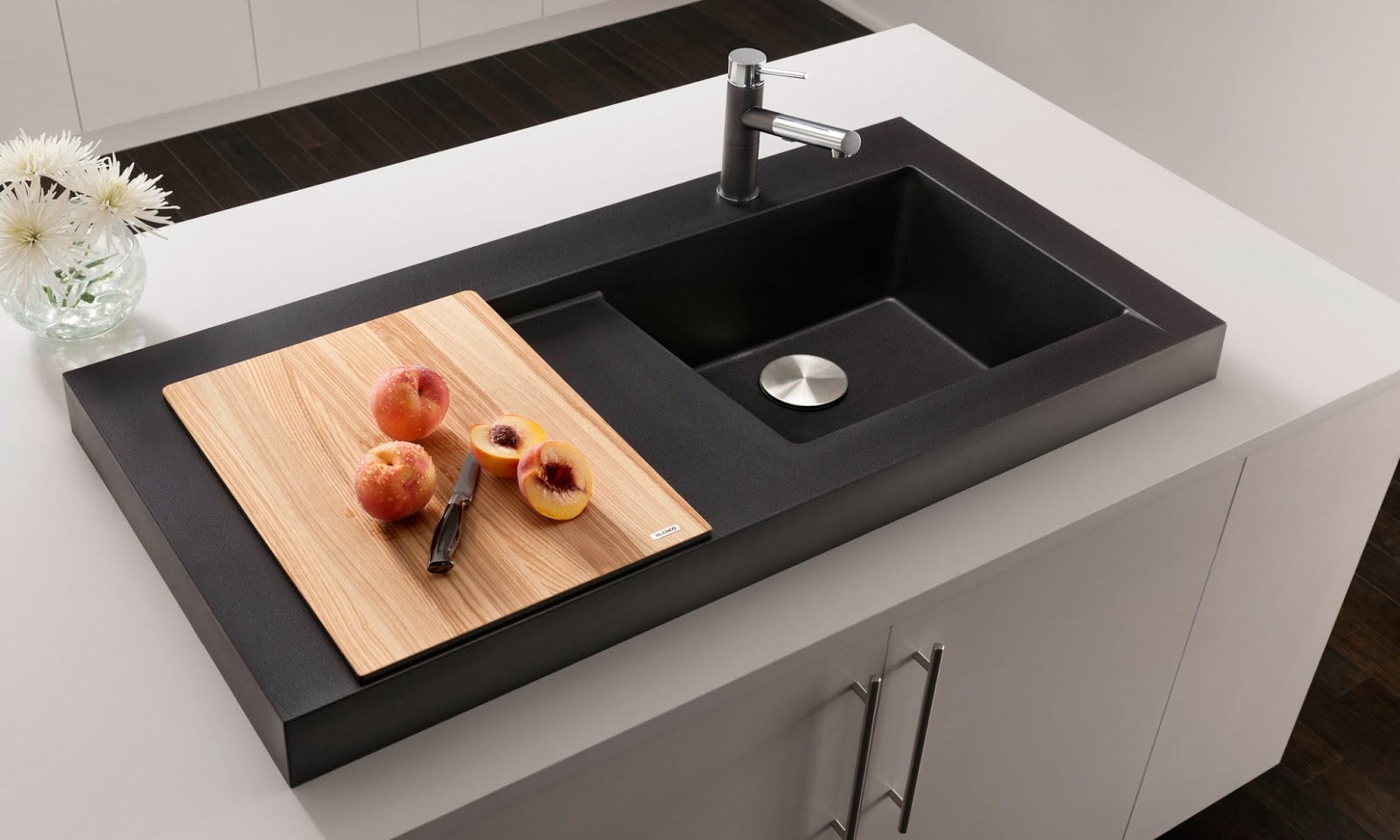 Blanco Undermount Kitchen Sinks Bar Counter Lisa Mende Design Want To See A Drop Dead Gorgeous