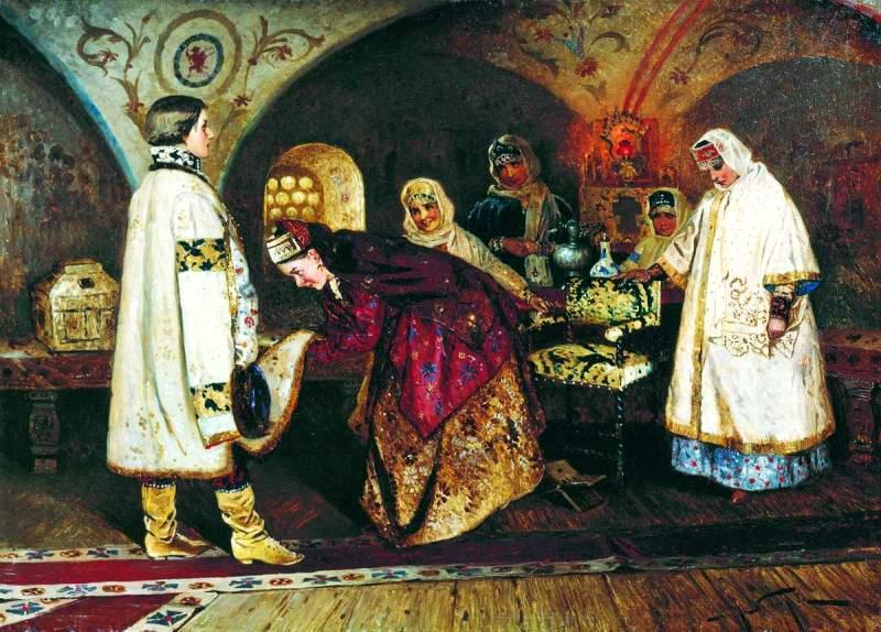 Оргии в царских семьях