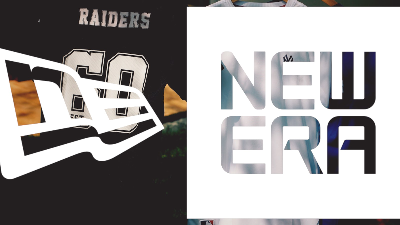 New Era Logo im Hintergrund New Era Border Collection Shirts vom Atomlabor Blog
