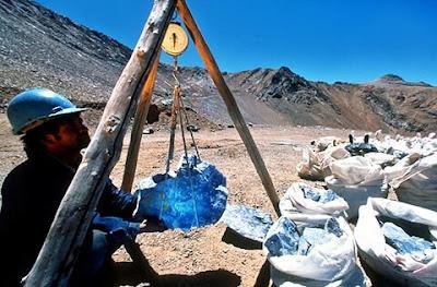 lapislazuli chile mina yacimiento | foro de minerales