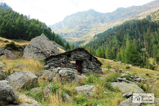 Isola Szlak via Spluga Alpy Włochy