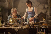 Emma Watson and Kevin Kline in Beauty and the Beast (2017) (9)