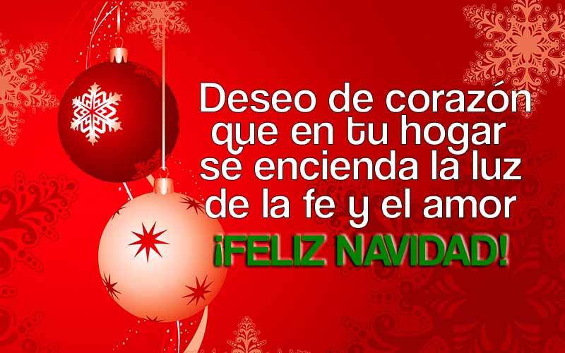 Imagenes De Feliz Navidad Con Frases Y Mensajes De Amor