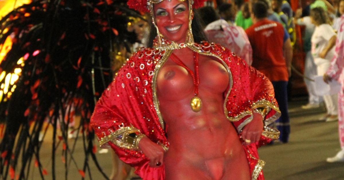 Rio carnival nude