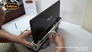 Chân đế khóa chống trộm laptop asus rất hiệu quả