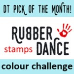 Gastdesigner Rubber Dance Stamps