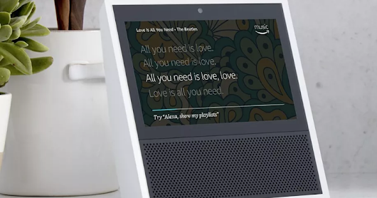 Officially -  Amazon Unveils Touchscreen Echo Show for $299.99