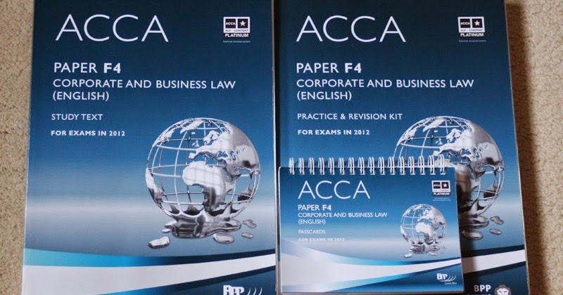 Acca revision f4 corporate law | Term paper Example