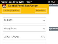 Real Count tim Prabowo Sandi. 02 menang 62 % dari hitungan 312000 TPS versi C 1.
