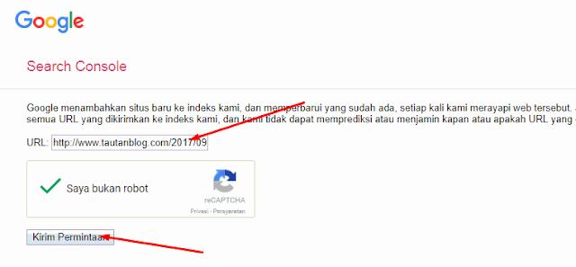 Cara Submit Artikel Ke Webmaster Agar Lebih Cepat Terindeks Google