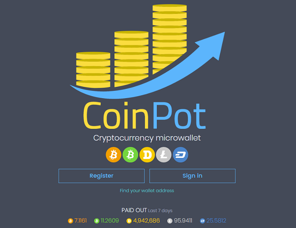 أفضل مواقع جمع العملات الرقمية│موقع coinpot والمواقع التابعة له│شرح الميزات الجديدة