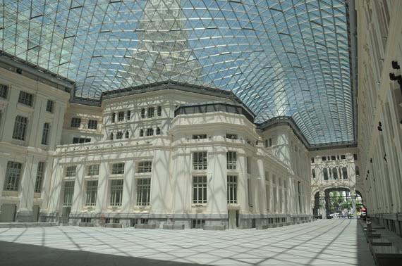 Galería de Cristales del Palacio de Cibeles