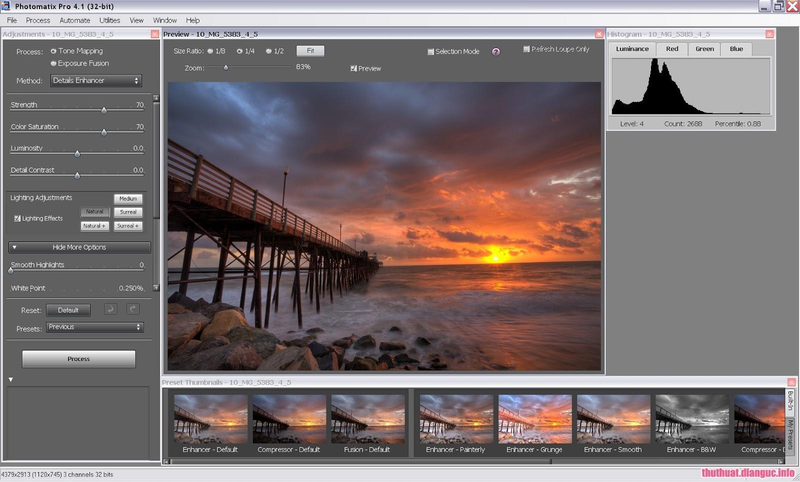 Download HDRsoft Photomatix Pro 6.1.1 Full Key – Phần mềm chỉnh sửa và thiết kế ảnh HDR chuyên nghiệp