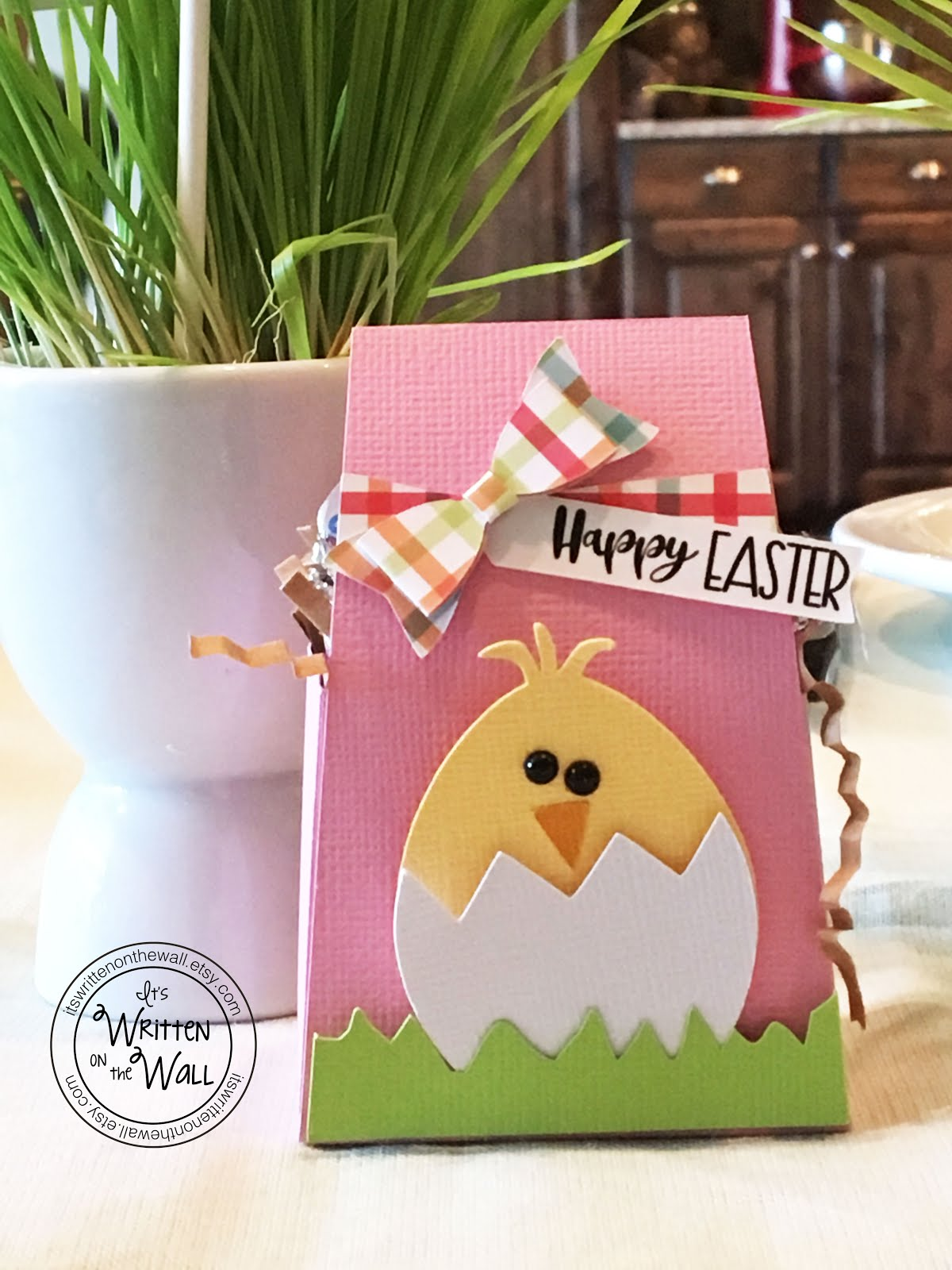 Easter Chick Treat Box/Place Setting