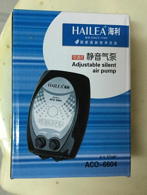 Máy sủi oxy Hailea 6604 hiệu quả, êm ái