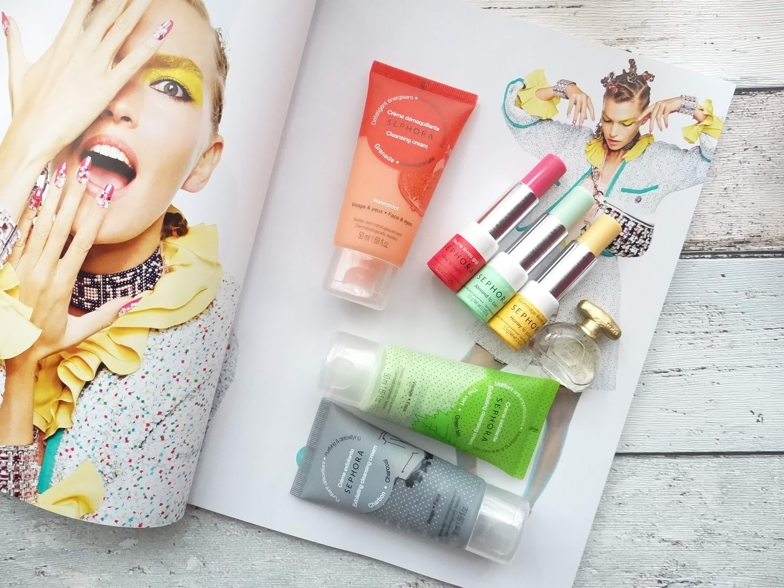 Kolorowe i wiosenne nowości Made in Sephora