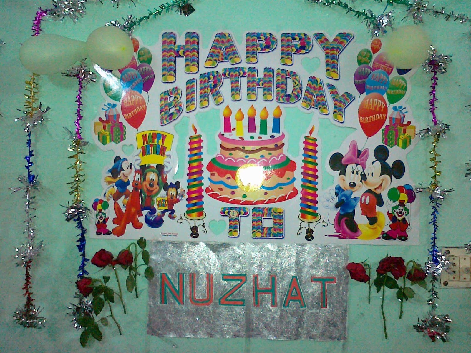 Md. Mamunur Rashid: Happy Birthday To Nuzhat