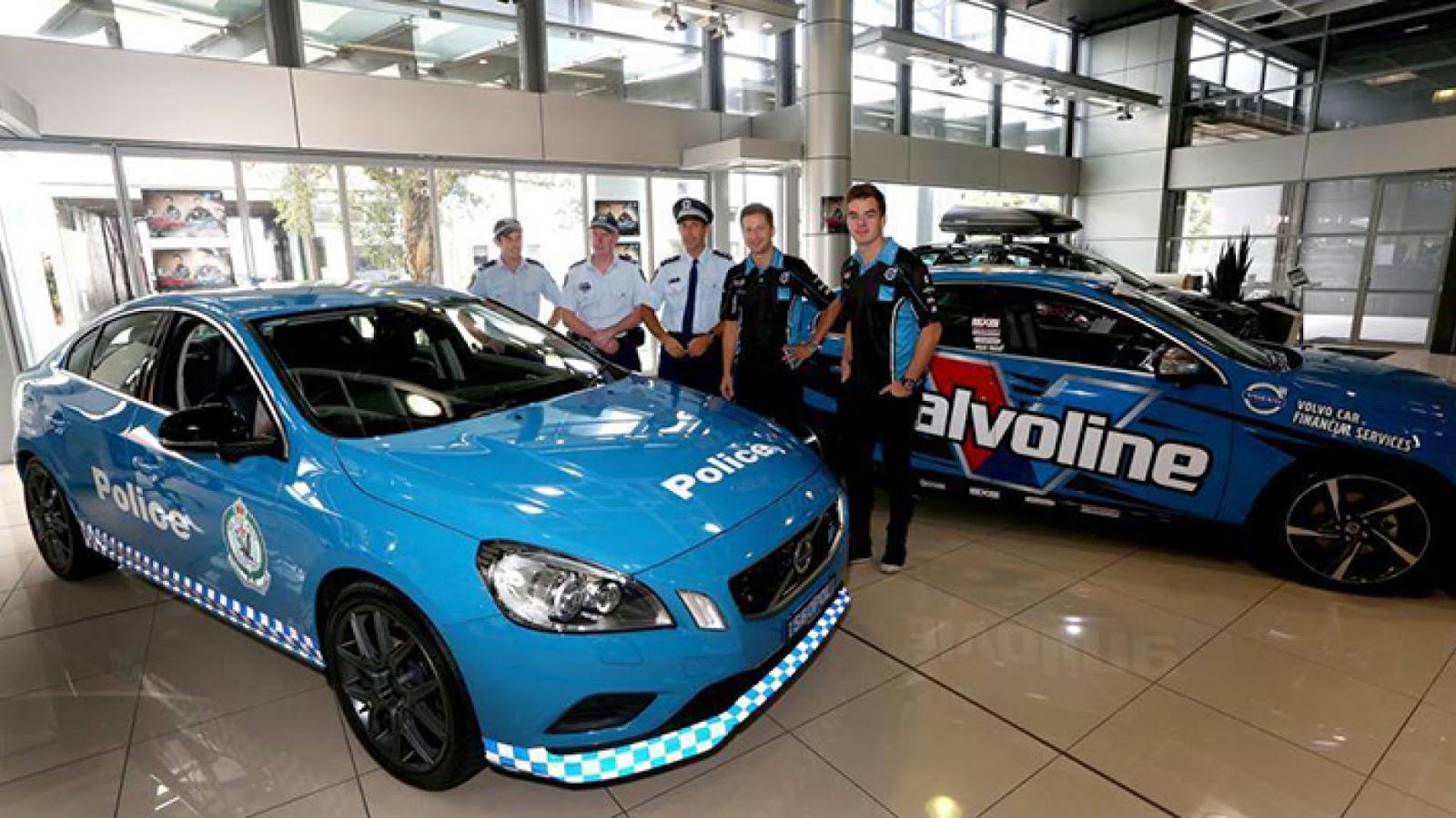 Australian police Volvo S60 Polestar