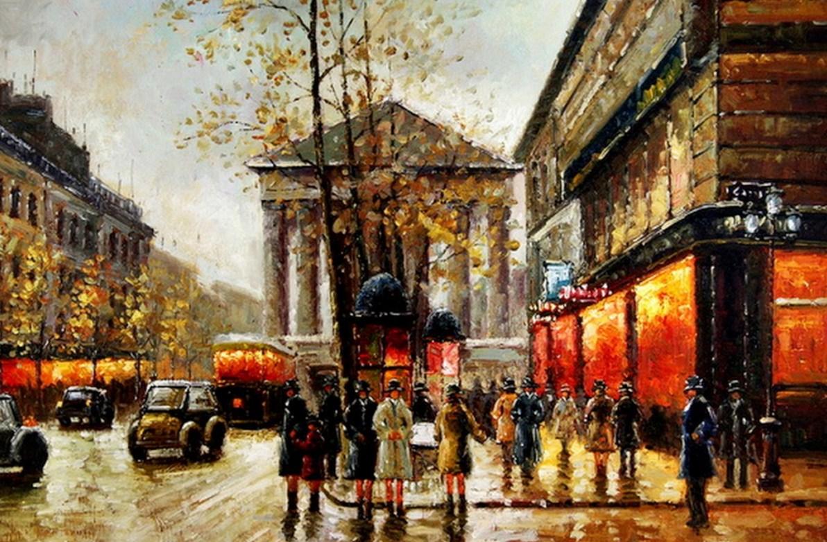 Pintura moderna y fotograf a art stica arte pintura for Idea de pintura de corredor