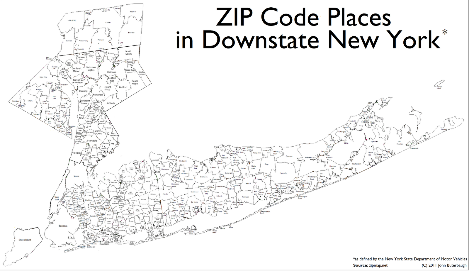 Map And Brooklyn Codes Zip Towns