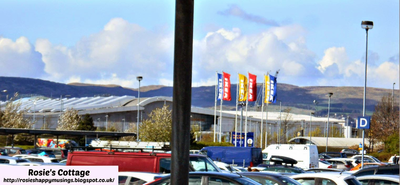 Scottish Hills Over Ikea