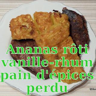 http://danslacuisinedhilary.blogspot.fr/2013/07/ananas-roti-vanille-rhum-et-son-pain.html
