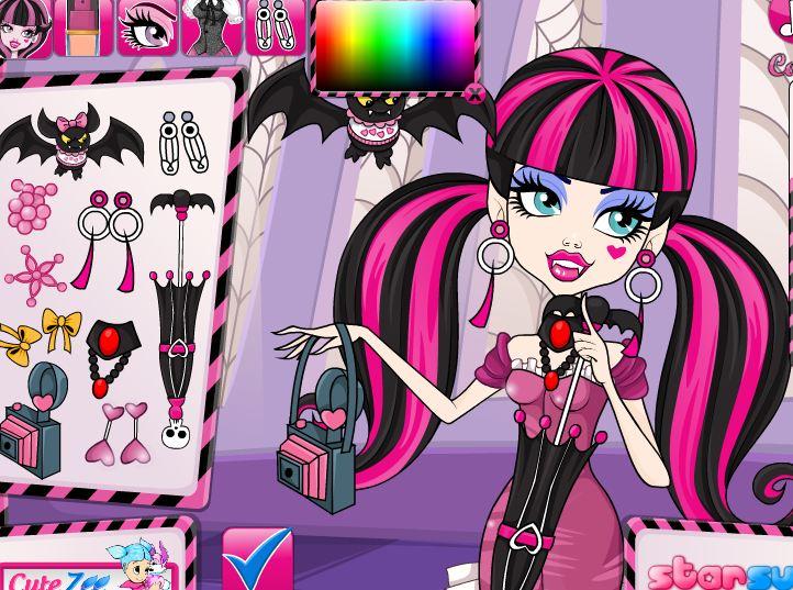 Juegos De Las Monster High Maquillar Mini Steadicam