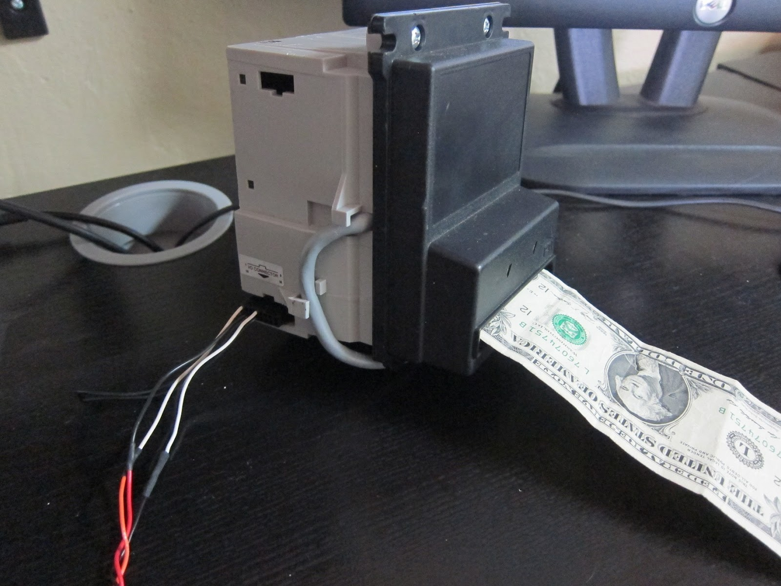 Controlling Vending Machine Bill Acceptor With Arduino The Secret Wiring Diagram