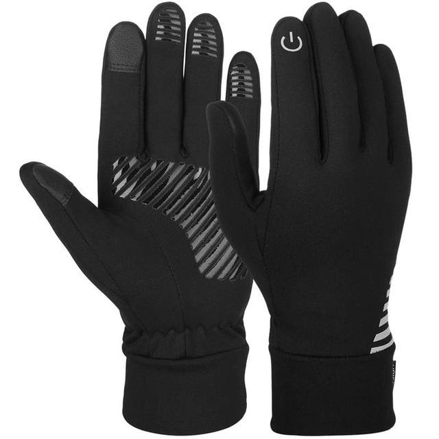 Men's Reflective Sports Touch Screen Winter Gloves