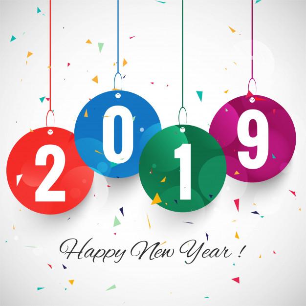 أجمل صور السنة الميلادية 2019