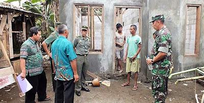 Kades Rempoah Beberkan Rehab RTLH TMMD Ke TIm Wasev Kodam Diponegoro