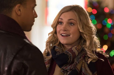 Christmas Inheritance 2017 Netflix movie still Eliza Taylor Michael Xavier