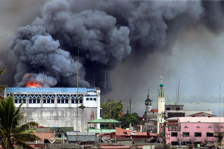 The Battle of Marawi lasted for 5 months and displaced 1.1 million civilians.