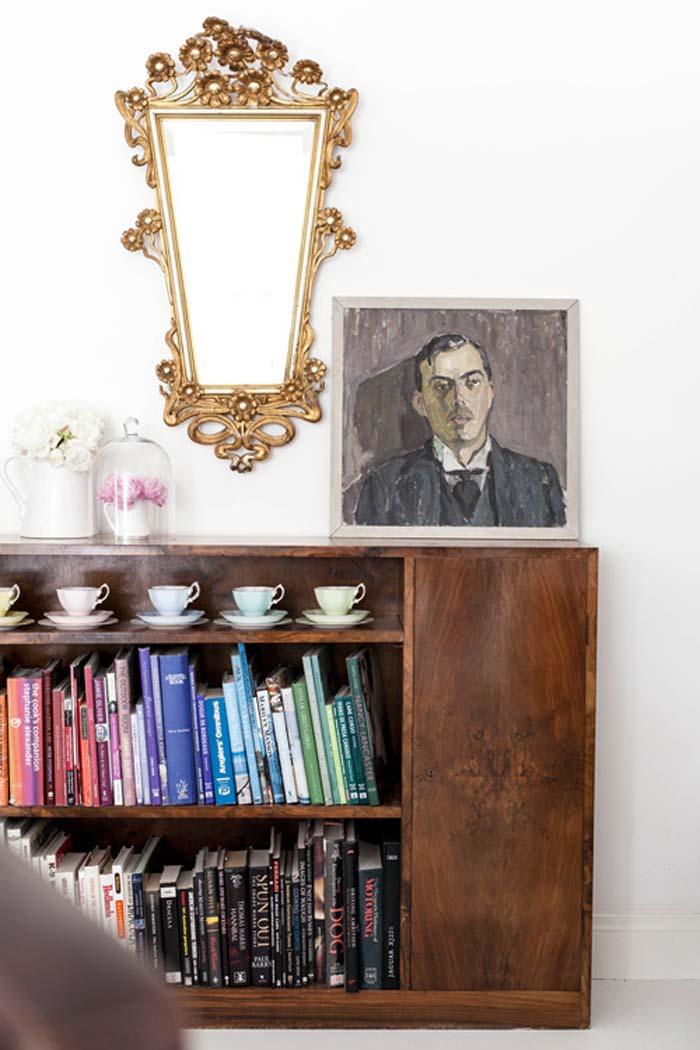 Retrato y espejo