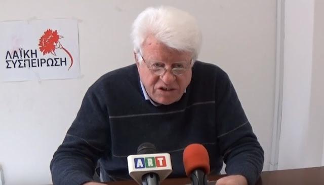 Ν. Γόντικας: Η αλήθεια για το ΕΣΠΑ στη Πελοπόννησο (βίντεο)