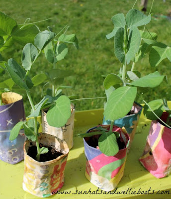 Sun Hats & Wellie Boots: 10 Simple Recycled Plant Pots for Kids to ...