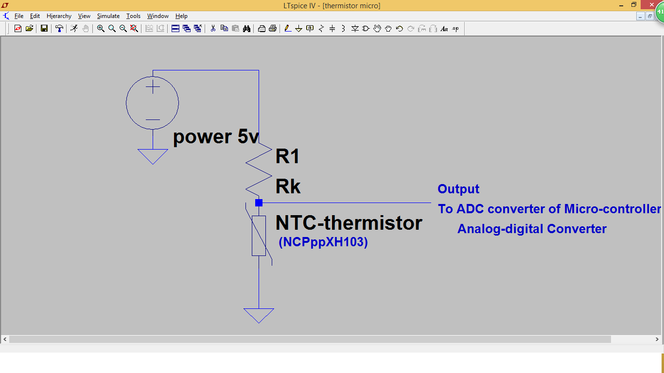 Arduino Temperature Thermistor Circuit And Calculation Code