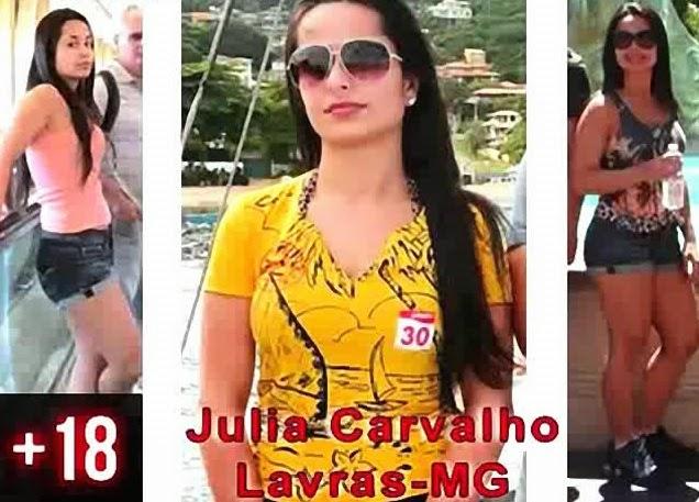 Julia Carvalho a Delicia de Lavras MG