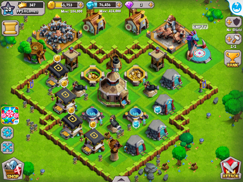 download game coc mod apk for android
