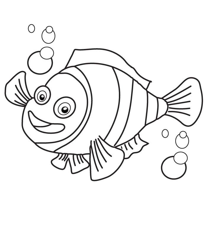 Desenhos Do Procurando Nemo Para Pintar Colorir Imprimir
