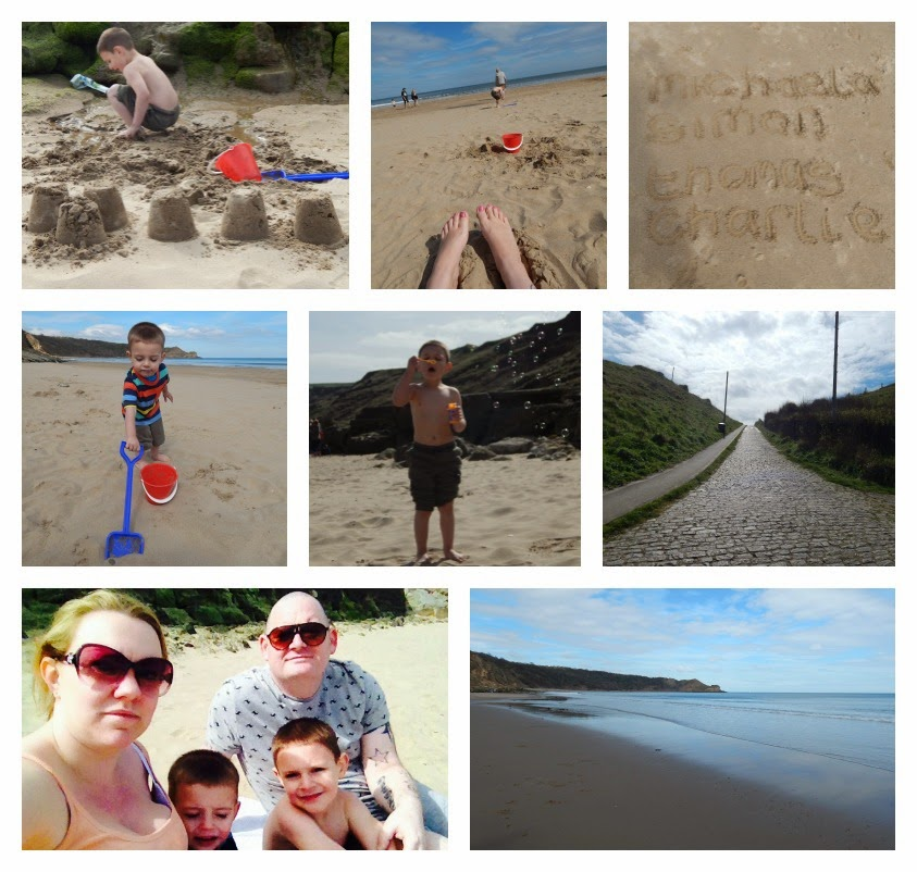 Yorkshire Blog, Mummy Blogging, Parent Blog, Scarborough, Cayton Bay, Holiday, Caravan, Beach, Sun, Country Kids, UK Break,