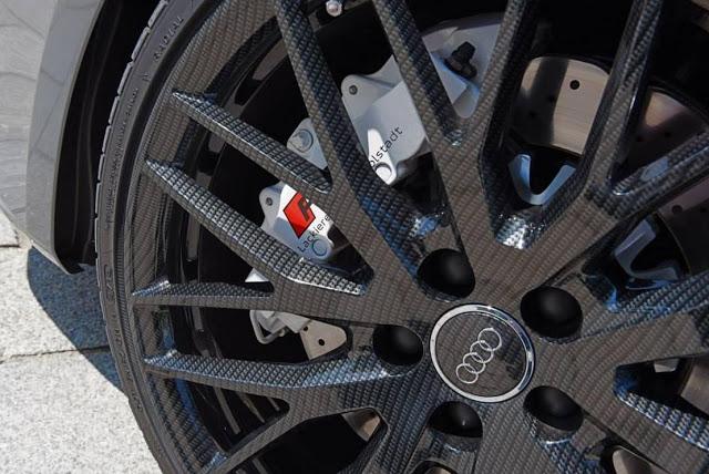 rueda de fibra de carbono